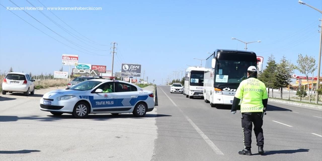 Niğde'de Karantina İhlali Yapan Polise Meslektaşları Acımadı