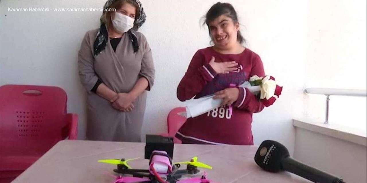 Kayseri'de Öğrencilere Drone İle Sürpriz