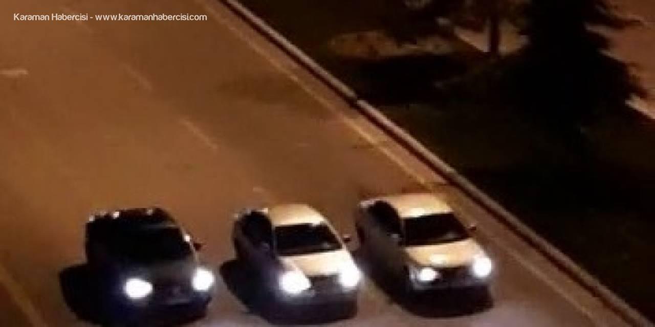 Yarış Yapan Otomobillere 598 Lira Ceza