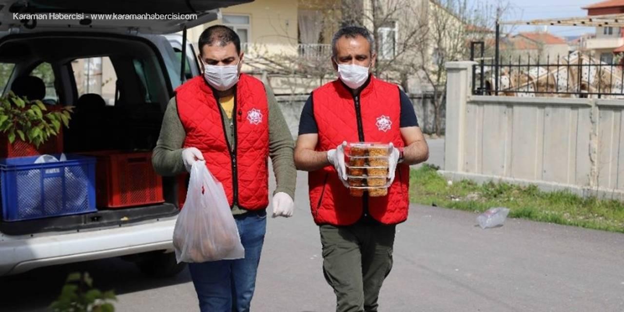 Aksaray Belediyesinden İftarda 450 Aileye Sıcak Yemek