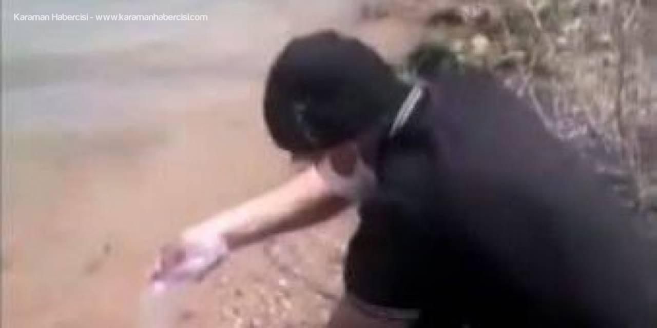 Altınapa Baraj Gölüne Balık Bırakan Esrarengiz Amerikalı