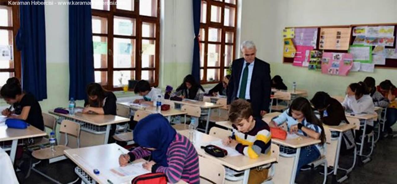 Karaman'da Merkezi Ortak Sınavlar Sorunsuz Gerçekleştirildi