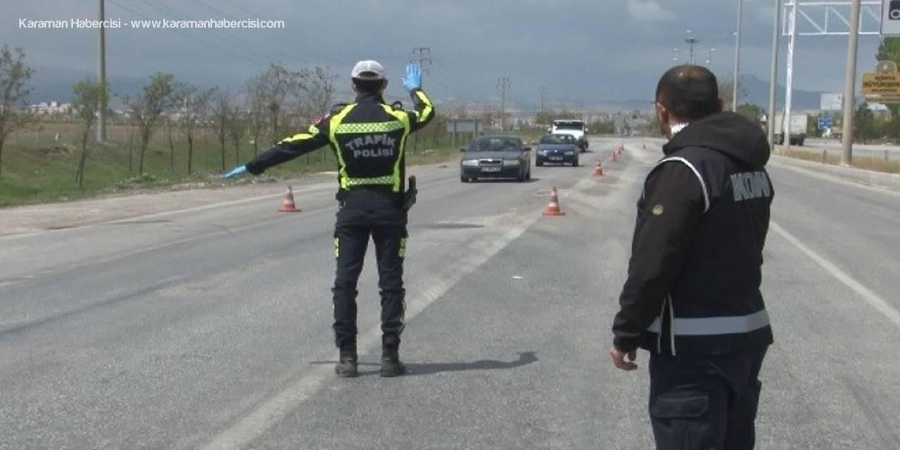 Karaman'da Koronavirüs Nedeniyle Bazı Sokaklara Giriş Yasaklandı