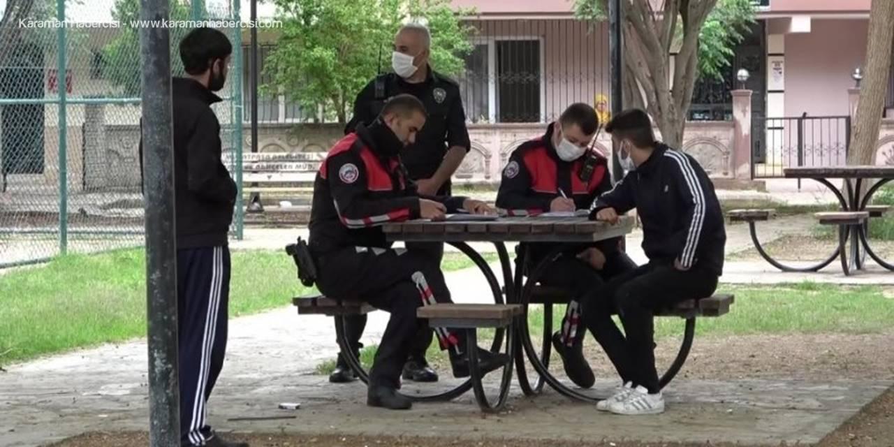 Antalya Polisi Gençlerin İkinci Hatasını Afetmedi