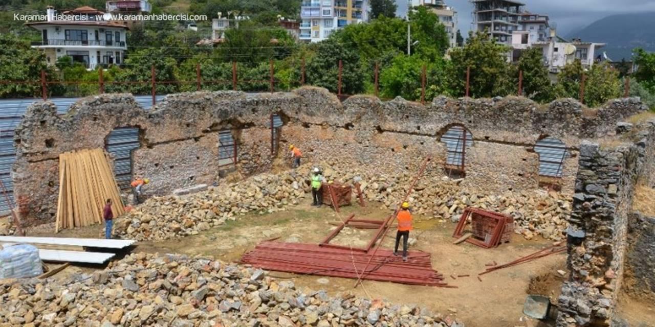 Karamanoğullarından Kalan Tarihi Camii Restore Ediliyor