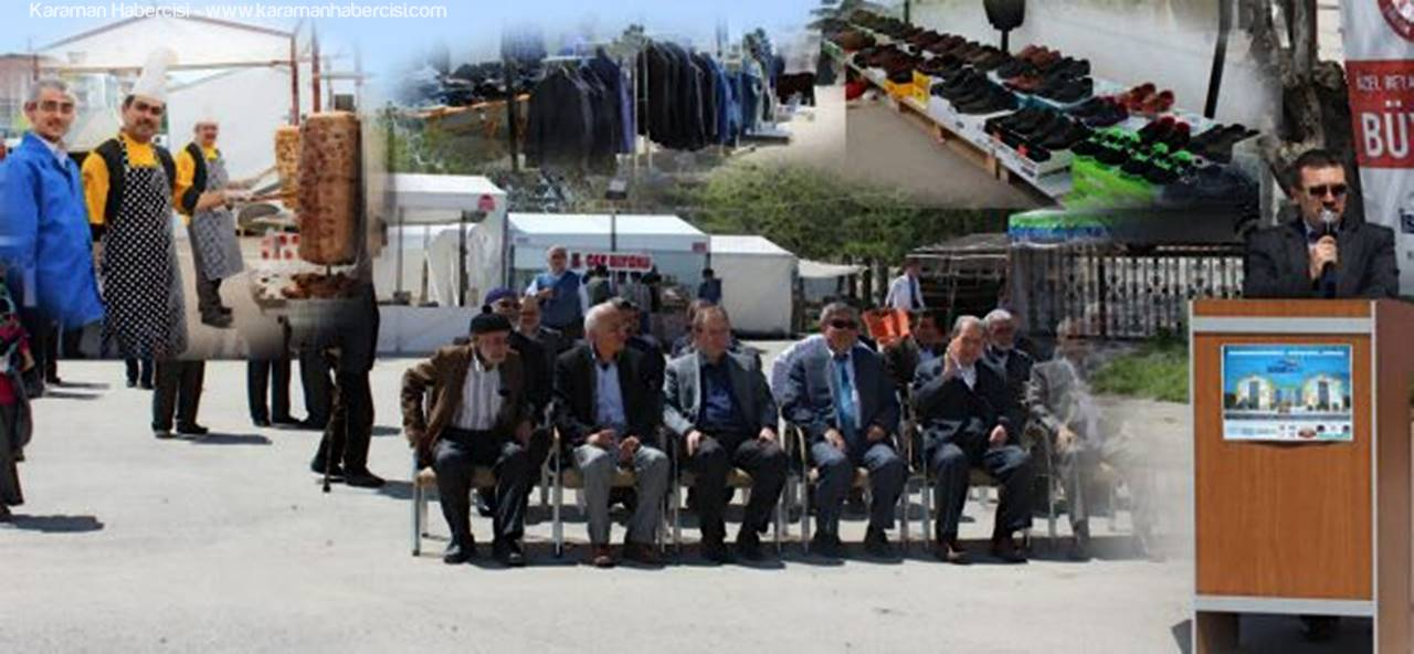 Karaman'da Hayır Çarşısı Açıldı