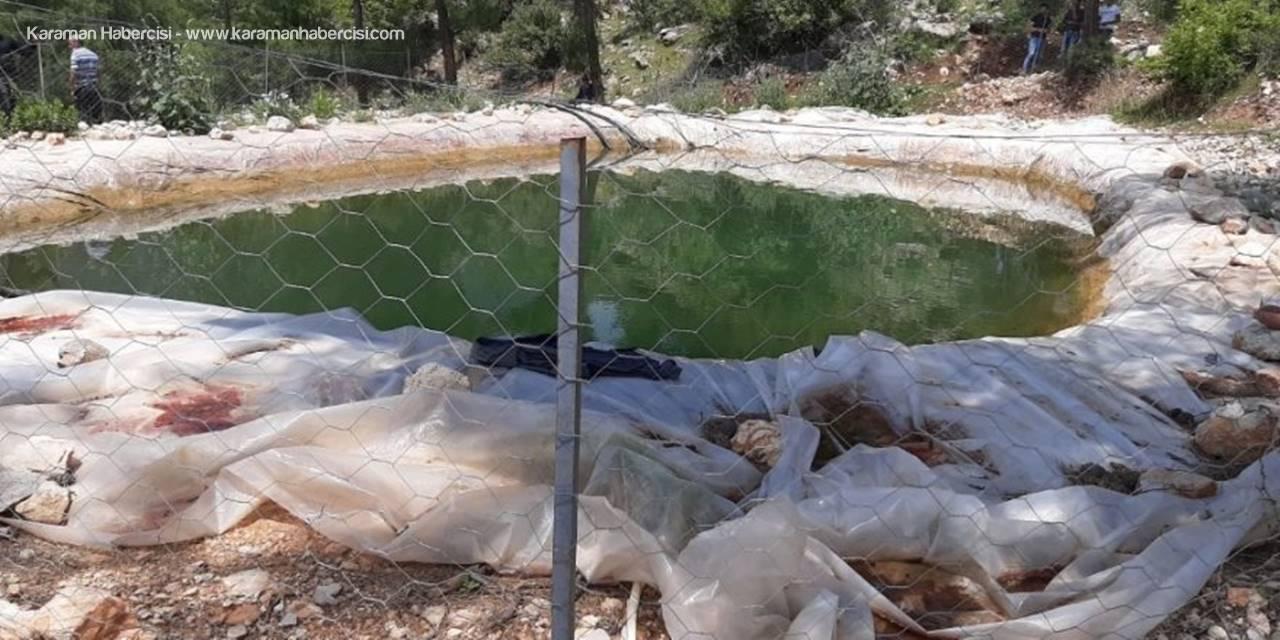 Sulama Havuzuna Düşen Yaşlı Adam Hayatını Kaybetti