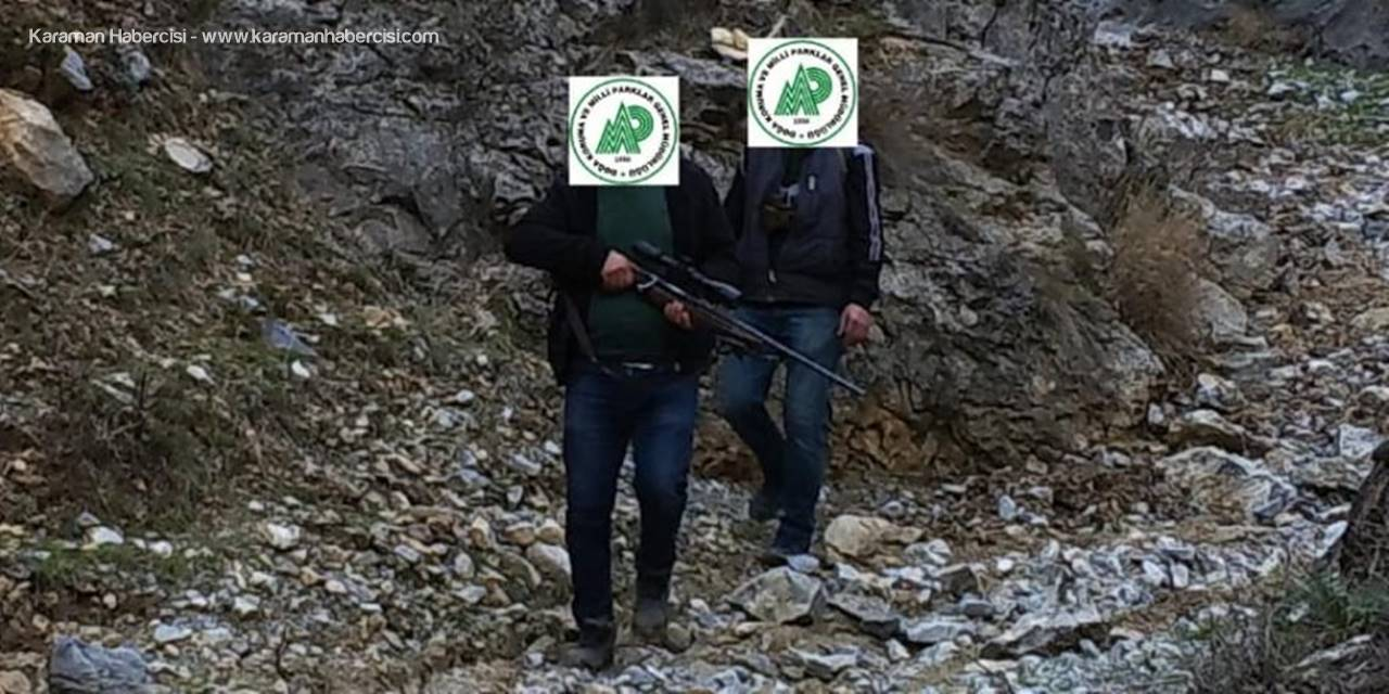Niğde'de Kaçak Avlanan 2 Kişiye 6 Bin 918 Lira Ceza Kesildi