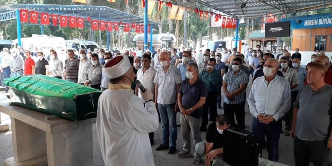 Mersin'de Hayatını Kaybeden Spor İlçe Müdürü'ne Son Görev