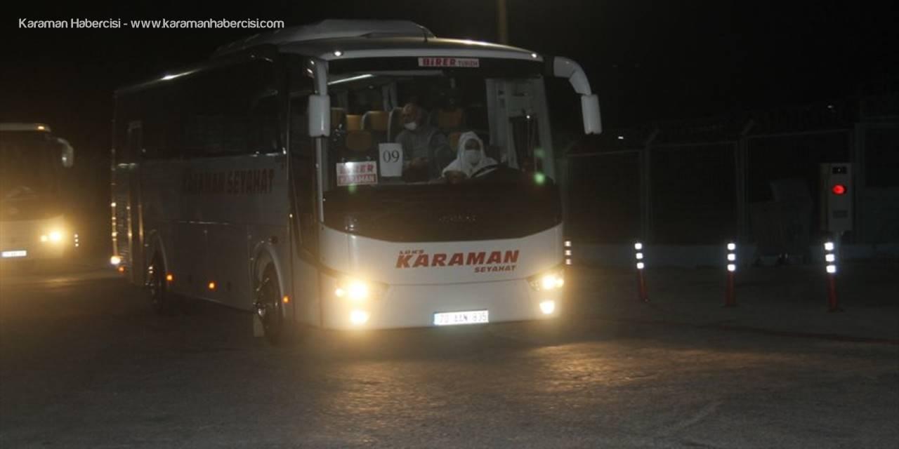 KKTC'den Mersin'e Getirilen 300 Kişi Karaman'a Gönderildi
