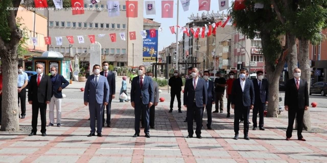 Karaman'da 19 Mayıs Kutlandı