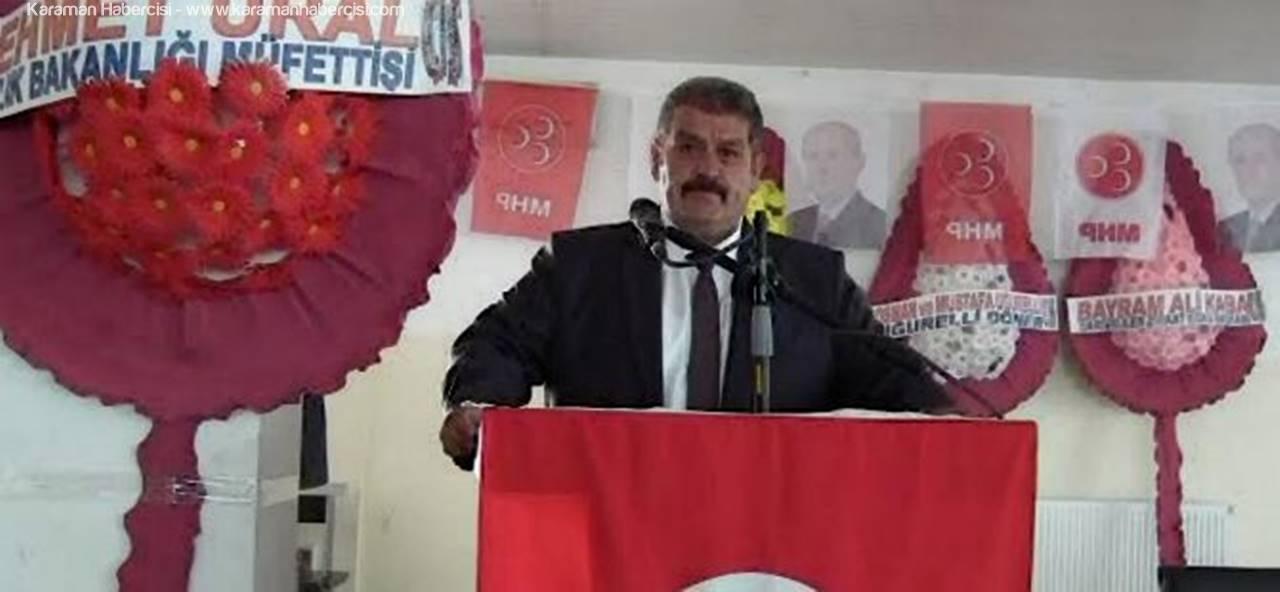 Sarıveliler'de MHP Kongresi Tamamlandı
