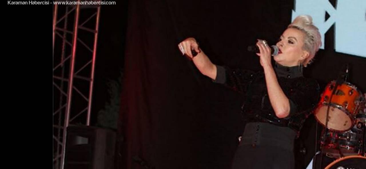 Pamela İle Karaman'da Coşkulu Konser