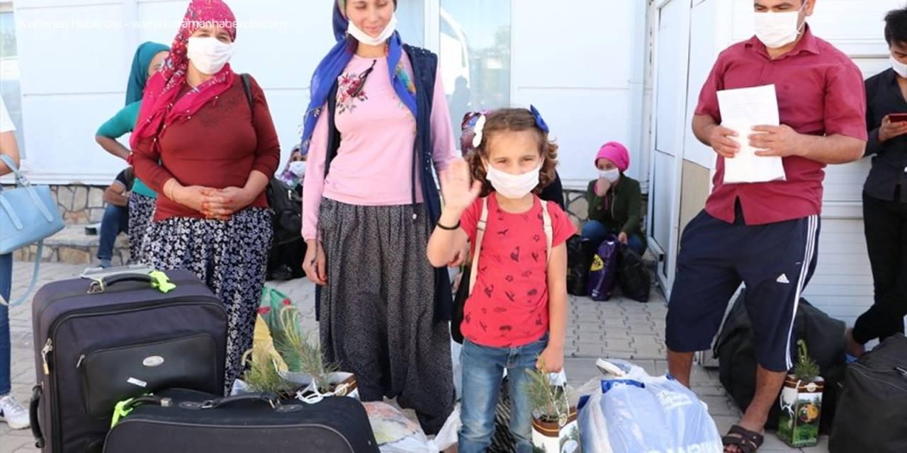 Karaman'ın Son Karantina Misafirleri Evlerine Gönderildi
