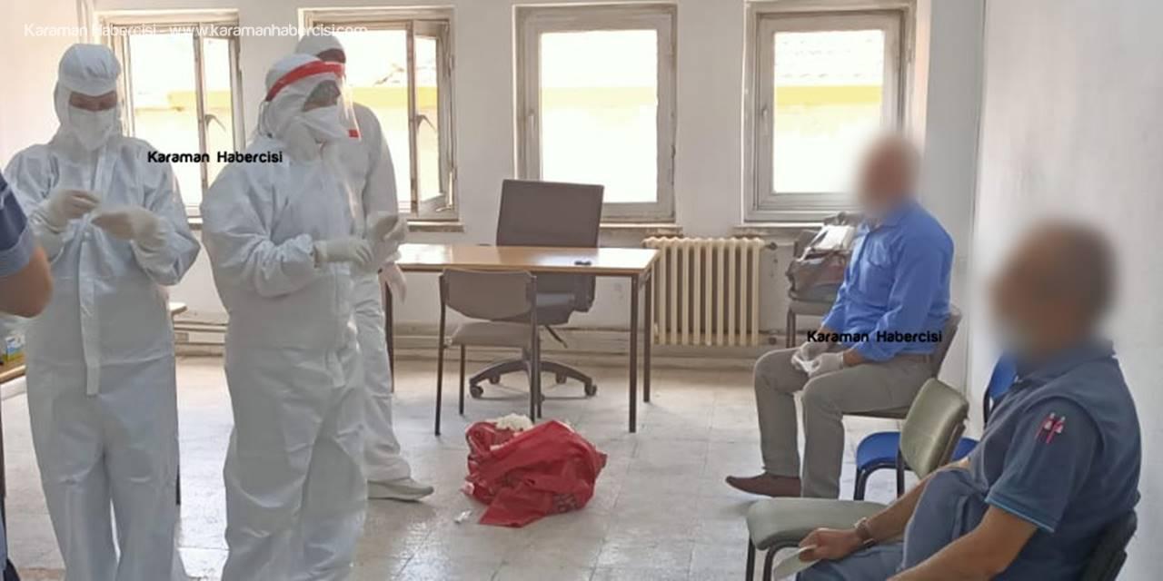 Karaman'da Posta Teşkilatında Korona Virüs Taraması