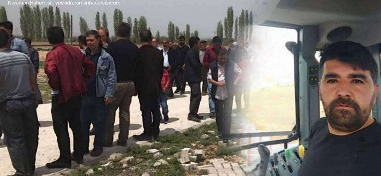 Traktör Kazasında Vefat Eden Mehmet Solak Defnedildi