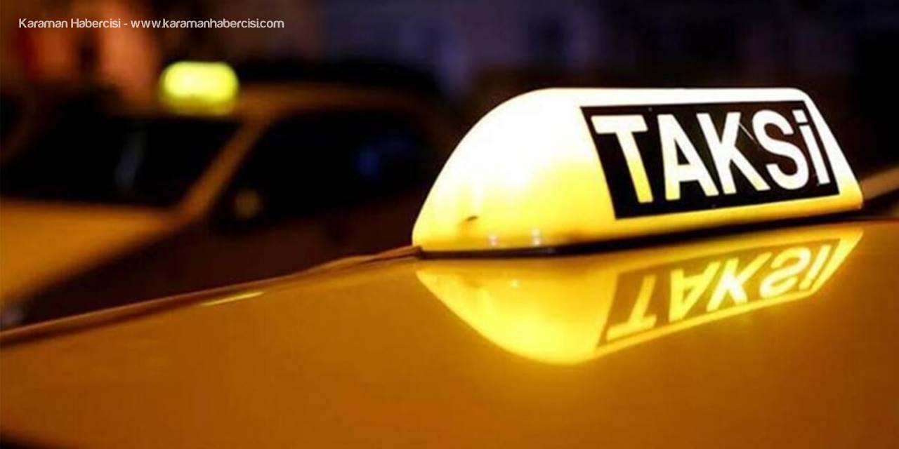 Karaman'da Yasaklar Süresince Hizmet Verecek Taksi Telefonları