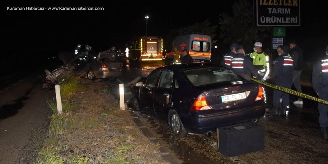 Aksaray'da Trafik Kazası: 1 Ölü 3 Ağır Yaralı