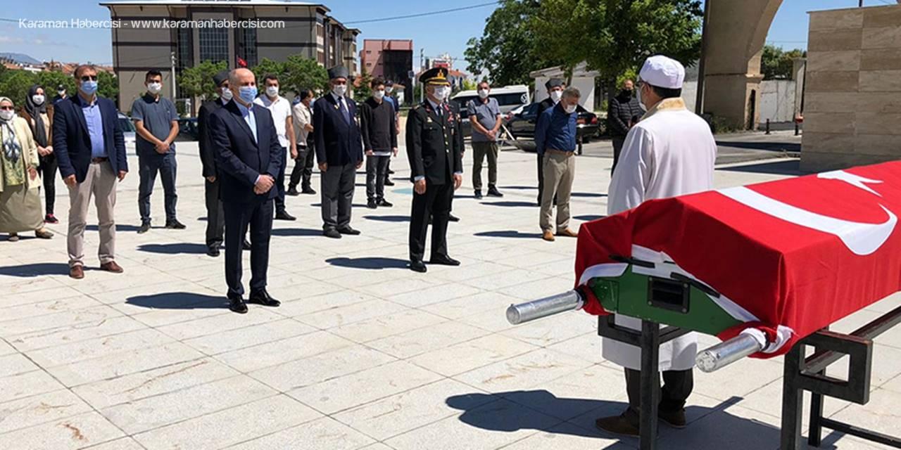 Kore Gazisi Ballı, Karaman'da Son Yolculuğuna Uğurlandı