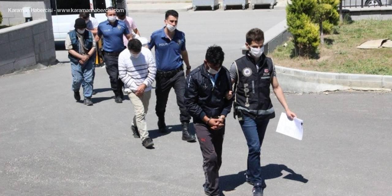 Karaman'da Silah Kaçakçılığı Yaptığı İddia Edilen 4 Şüpheli Serbest Bırakıldı