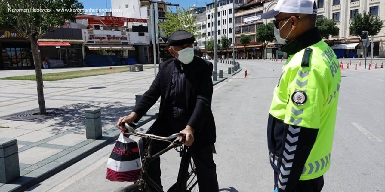 Konya'da Bayramın İlk Günü Trafik Denetimleri