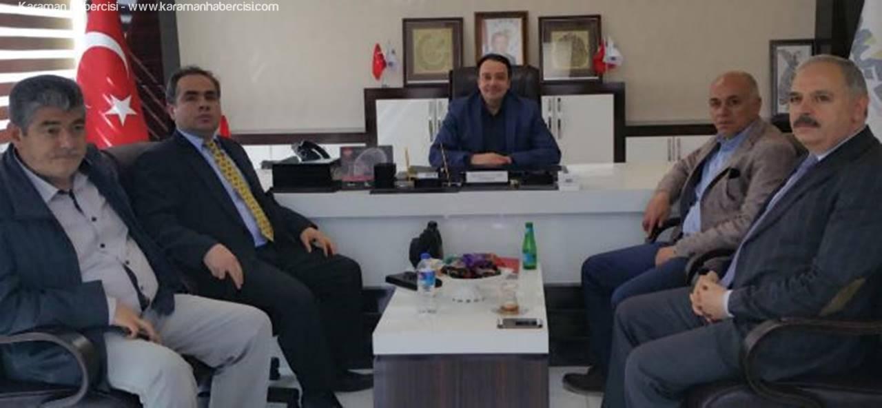 Ali Osman Cevher'e Hayırlı Olsun Ziyareti