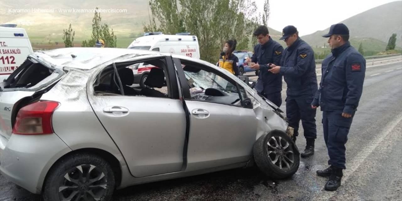 Kayseri'de Otomobil Devrildi: 1 Ölü, 2 Yaralı