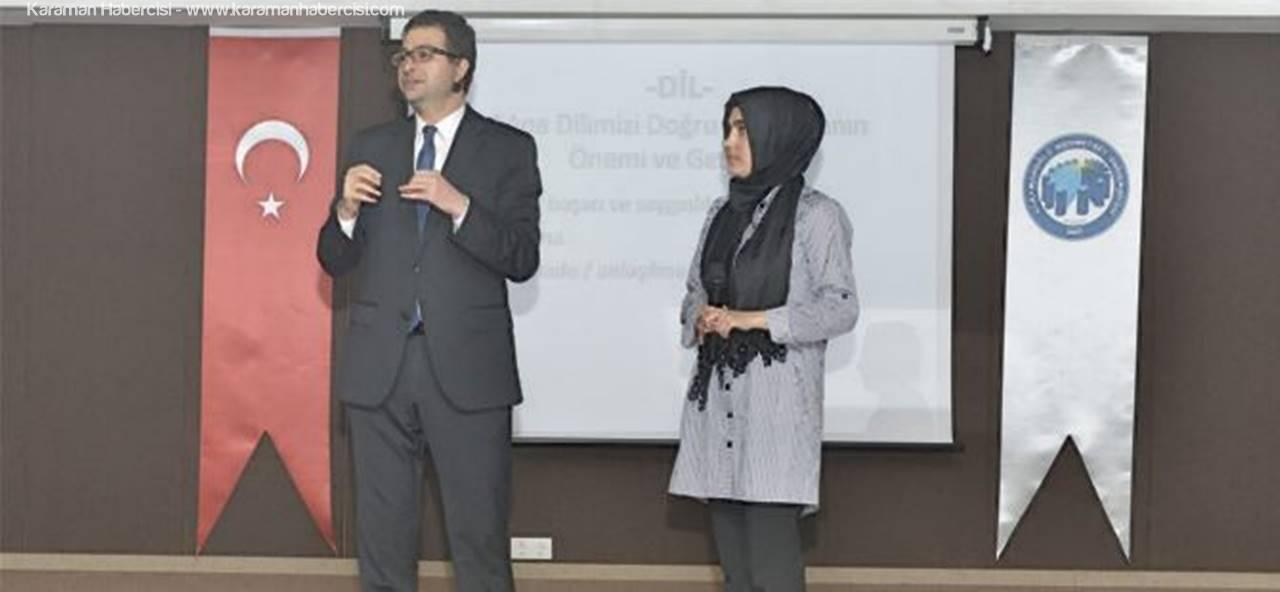 Haber Spikeri Nayman'dan Öğrencilere Etkili Konuşma Tüyoları