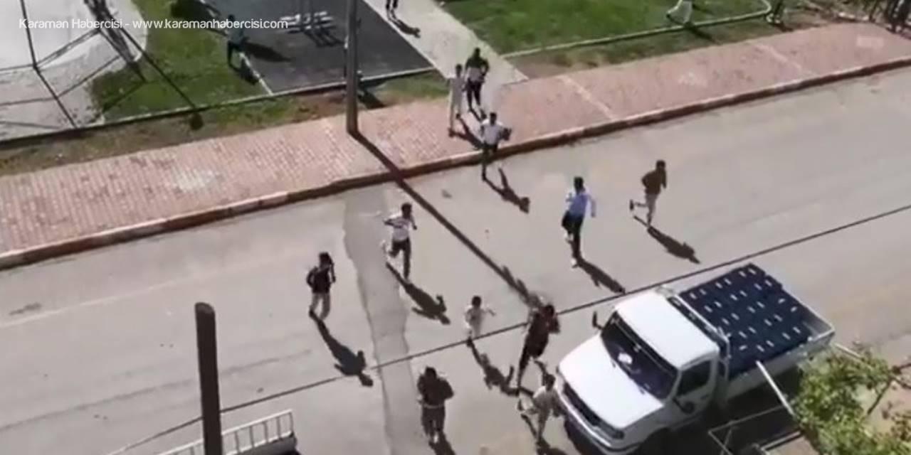 Antalya'da Muzip Tüpçü Çocukları Korkuttu