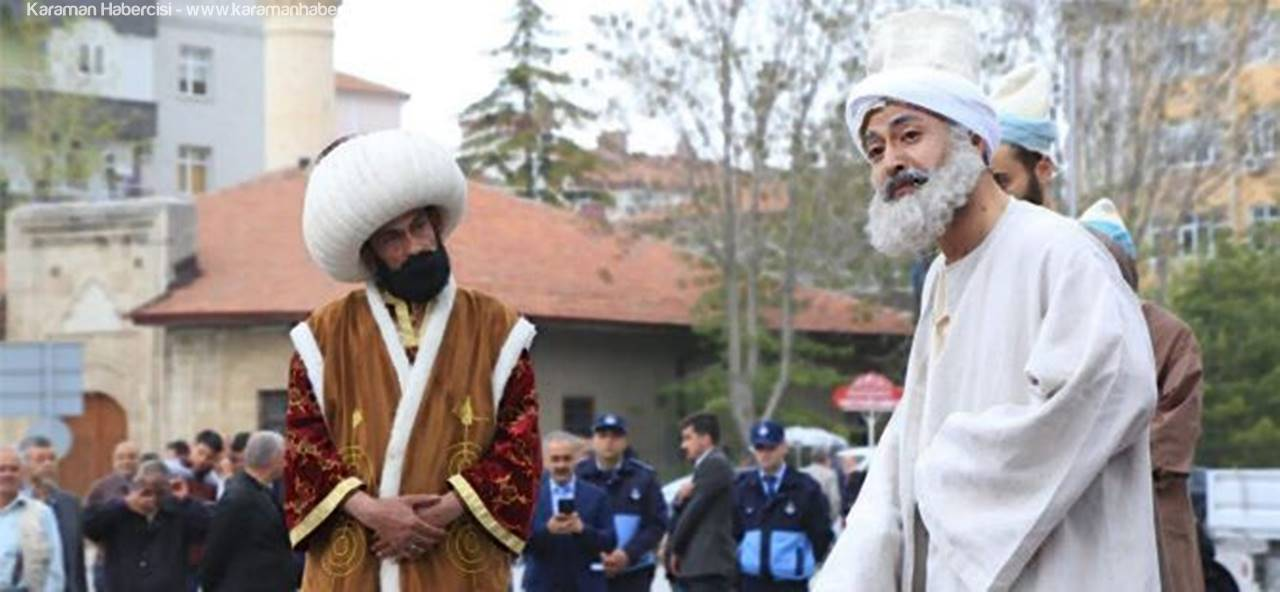 Karaman'dan Konya'ya Temsili Uğurlama
