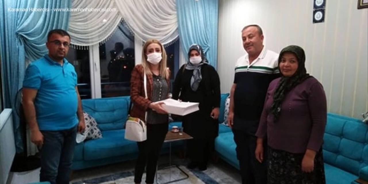 Ereğli'de Şehit Ailelerine Ziyaret