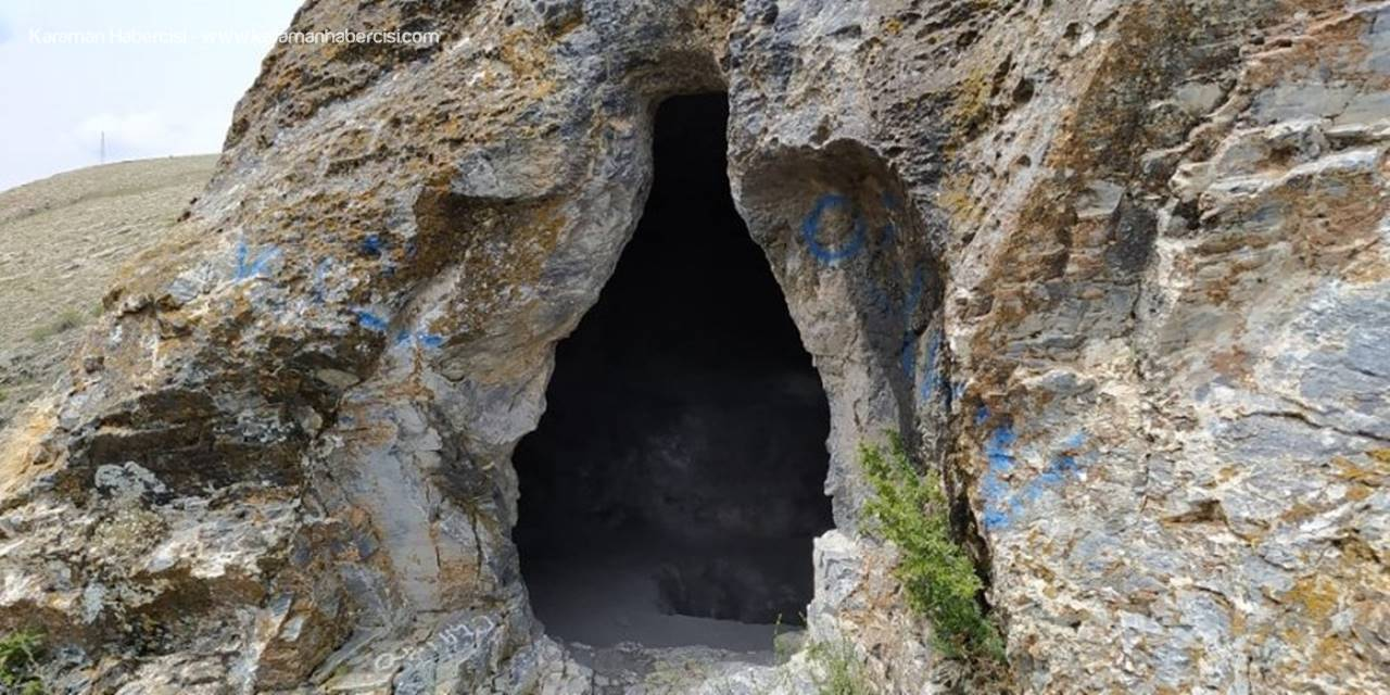 Konya'da Defineciler Mağarayı Tahrip Etti