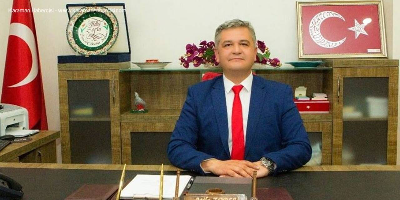 Ermenek Belediye Başkanı Atila Zorlu'nun 29 Ekim Cumhuriyet Bayramı Mesajı