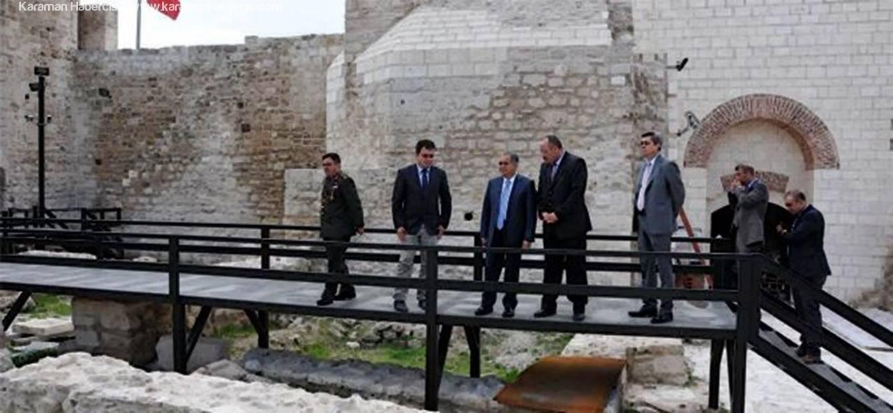 Karaman Kalesi Kültür Turizmine Kazandırılacak