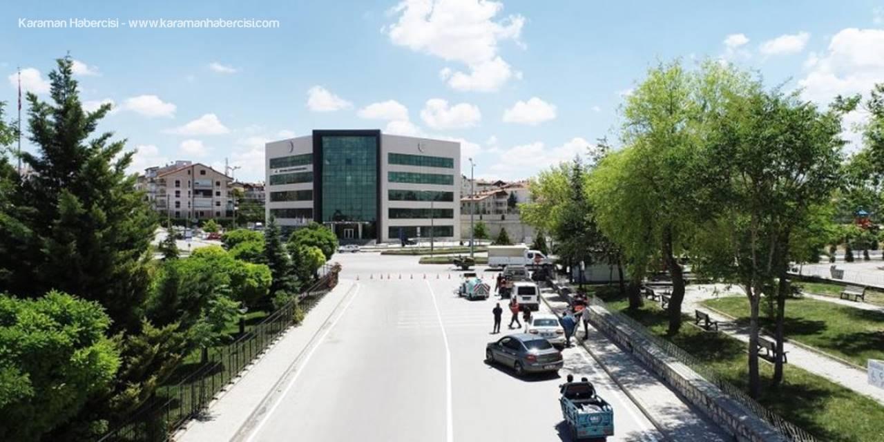 Karaman Belediyesi Yol Düzenleme Çalışmalarına Devam Ediyor