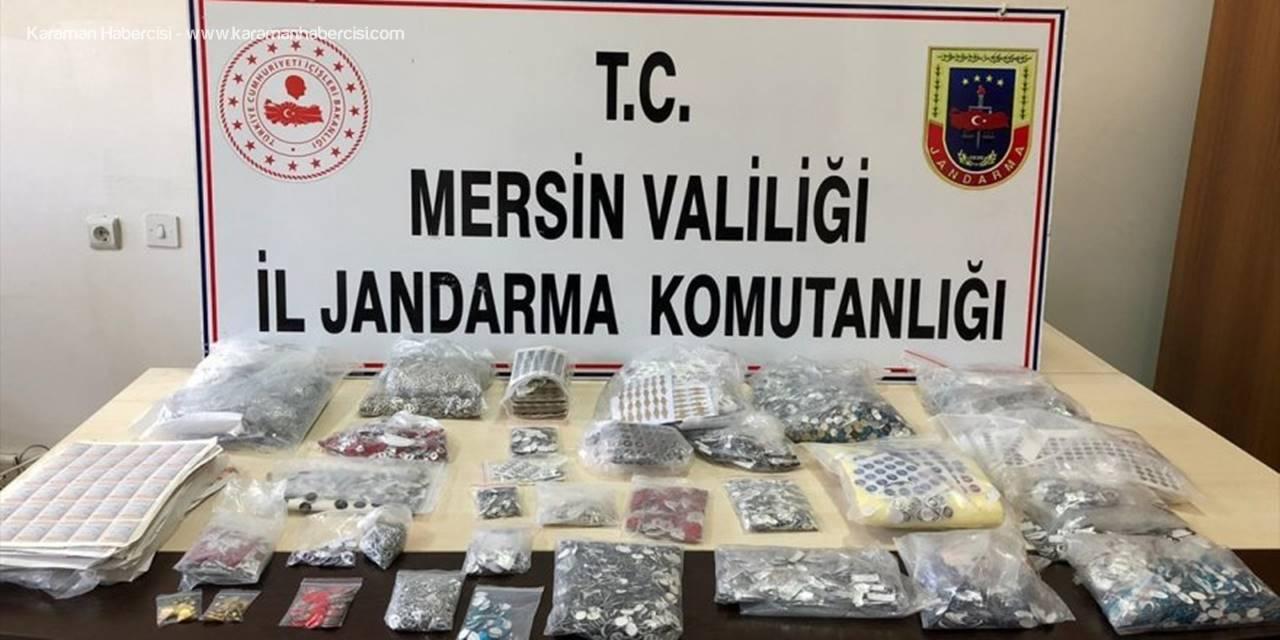 Mersin'de Kaçak Araç Kumandası Ve Logosu Operasyonu