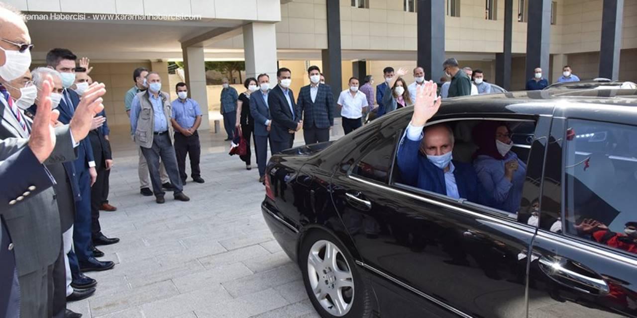 Vali Fahri Meral Karaman'dan Ayrıldı