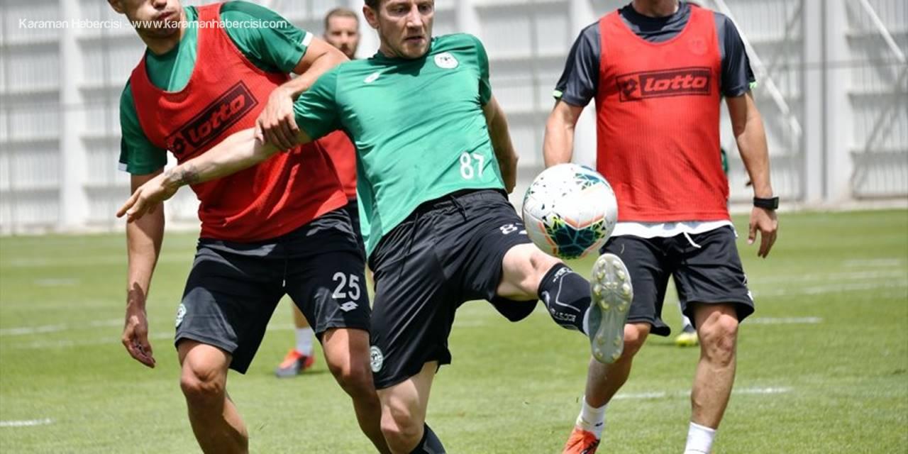 Konyaspor Sivasspor Maçına Hazırlanıyor