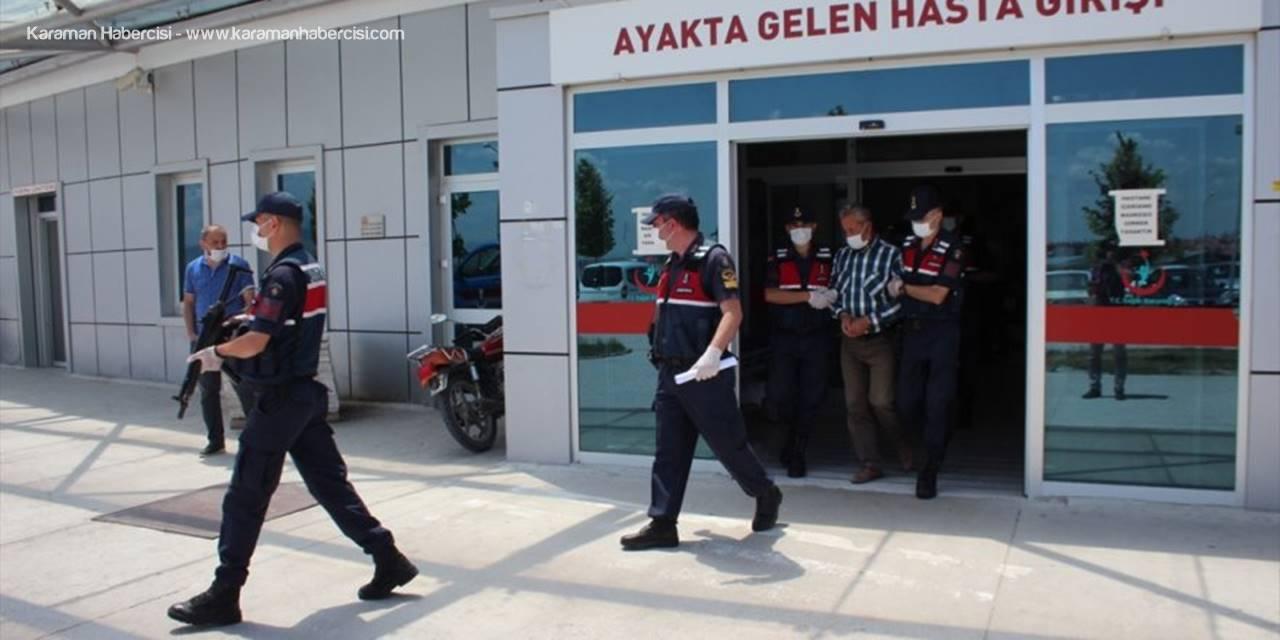 Konya'da Firari Şahıs Bağ Evinde Bulundu