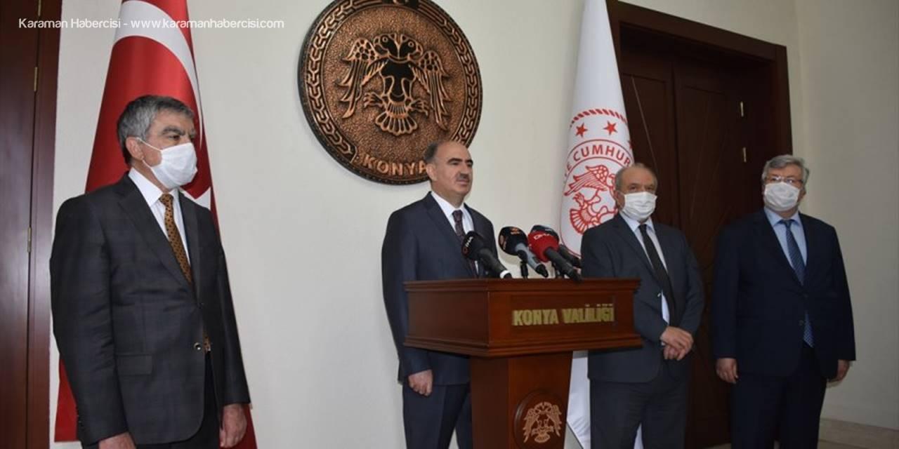 Konya Valisi Vahdettin Özkan Göreve Başladı