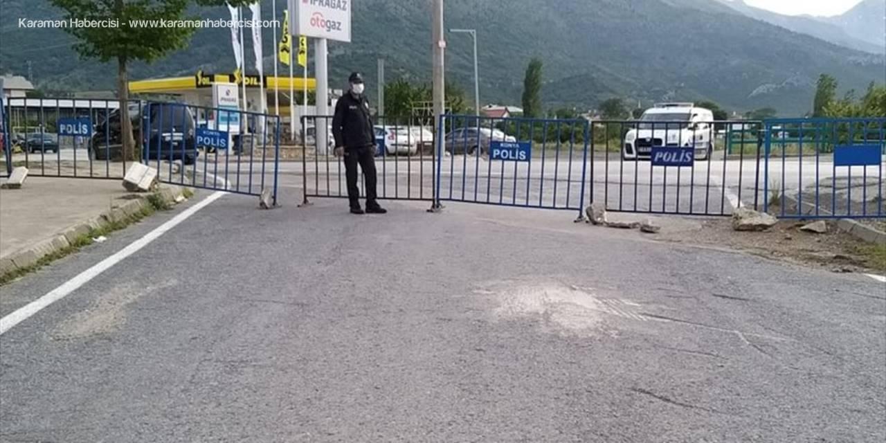 Konya'nın Hadim İlçesinde 2 Mahalle Karantinaya Alındı