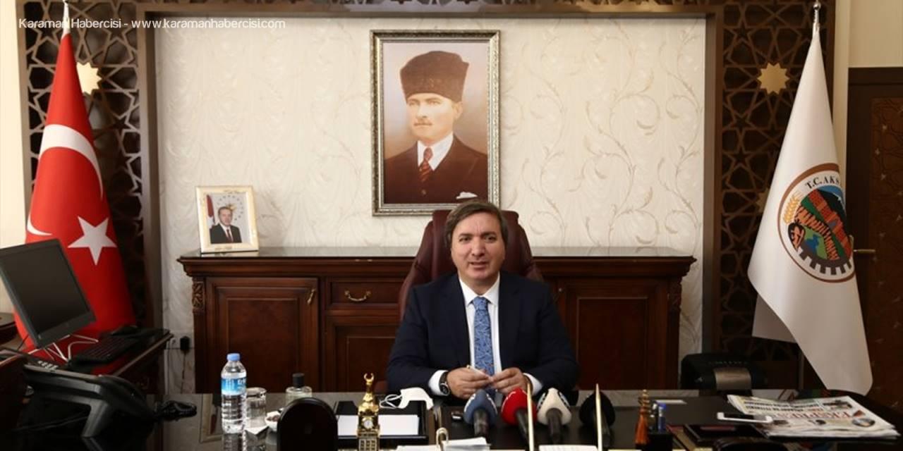 Aksaray Valisi Hamza Aydoğdu, Göreve Başladı