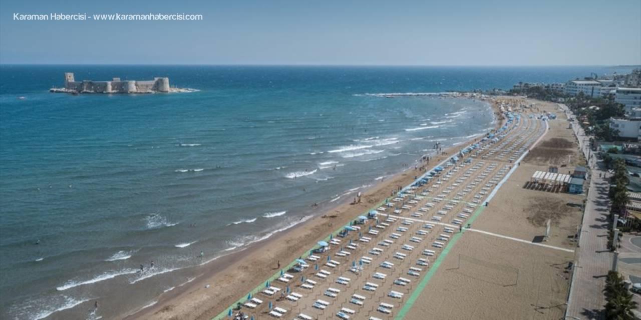 Mersin'de plajlara Kovid-19 düzenlemesi