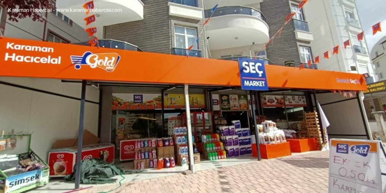Seç Market Gold Hacıcelal Şubesinden Açılışa Özel Şok Fiyatlar