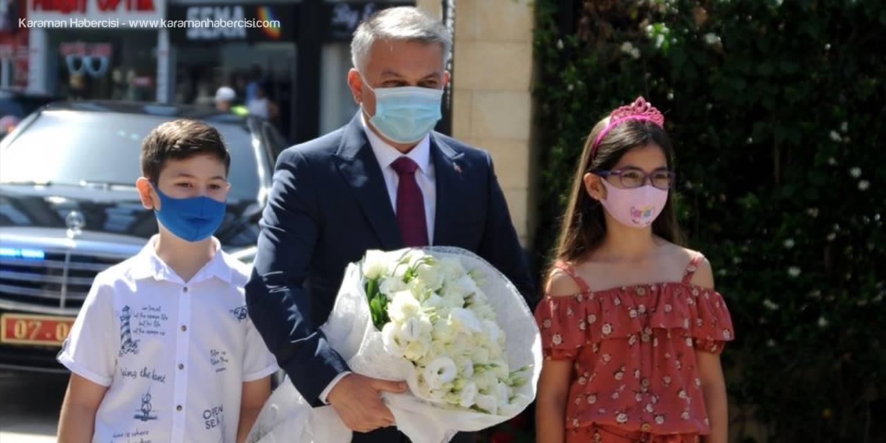 Antalya Valisi Ersin Yazıcı Göreve Başladı