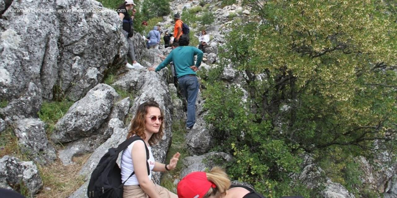 Konya'daki Çamlık Mağaraları Doğaseverleri Hayran Bırakıyor