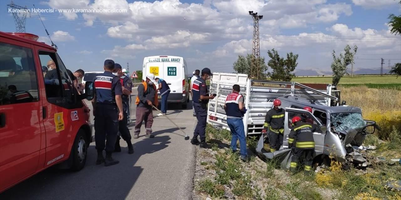 Konya Aksaray Yolundaki Feci Kazada Karı Koca Hayatını Kaybetti