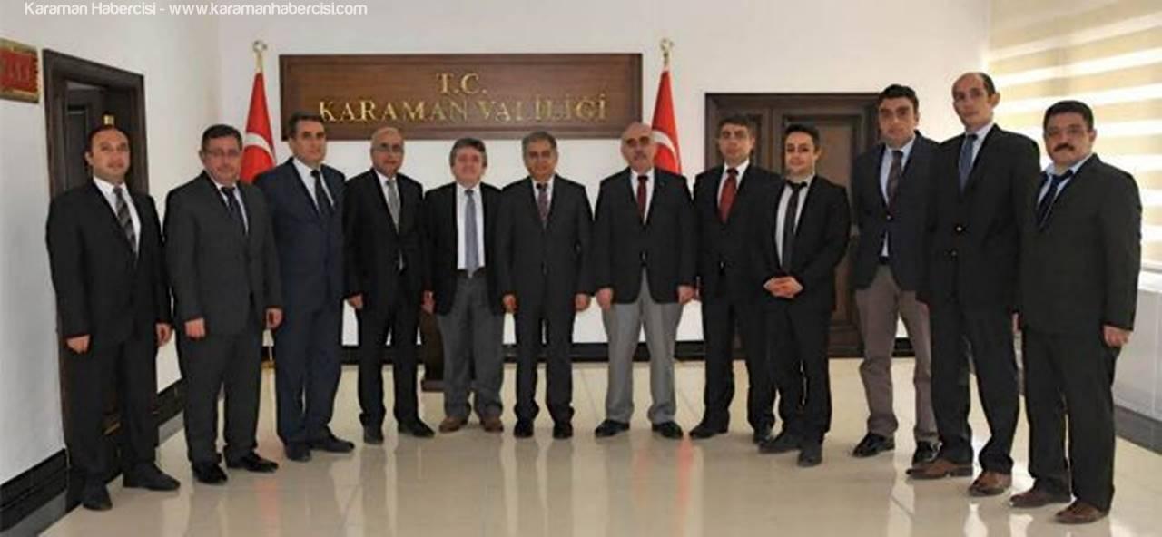 İl Müdürleri Vali Tapsız'ı Ziyaret Etti
