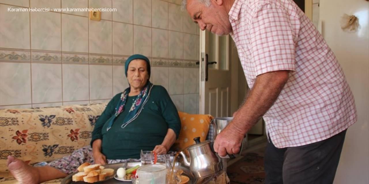 Antalyalı Çift Hayatın Zorluğuna Şükrederek Katlanıyorlar