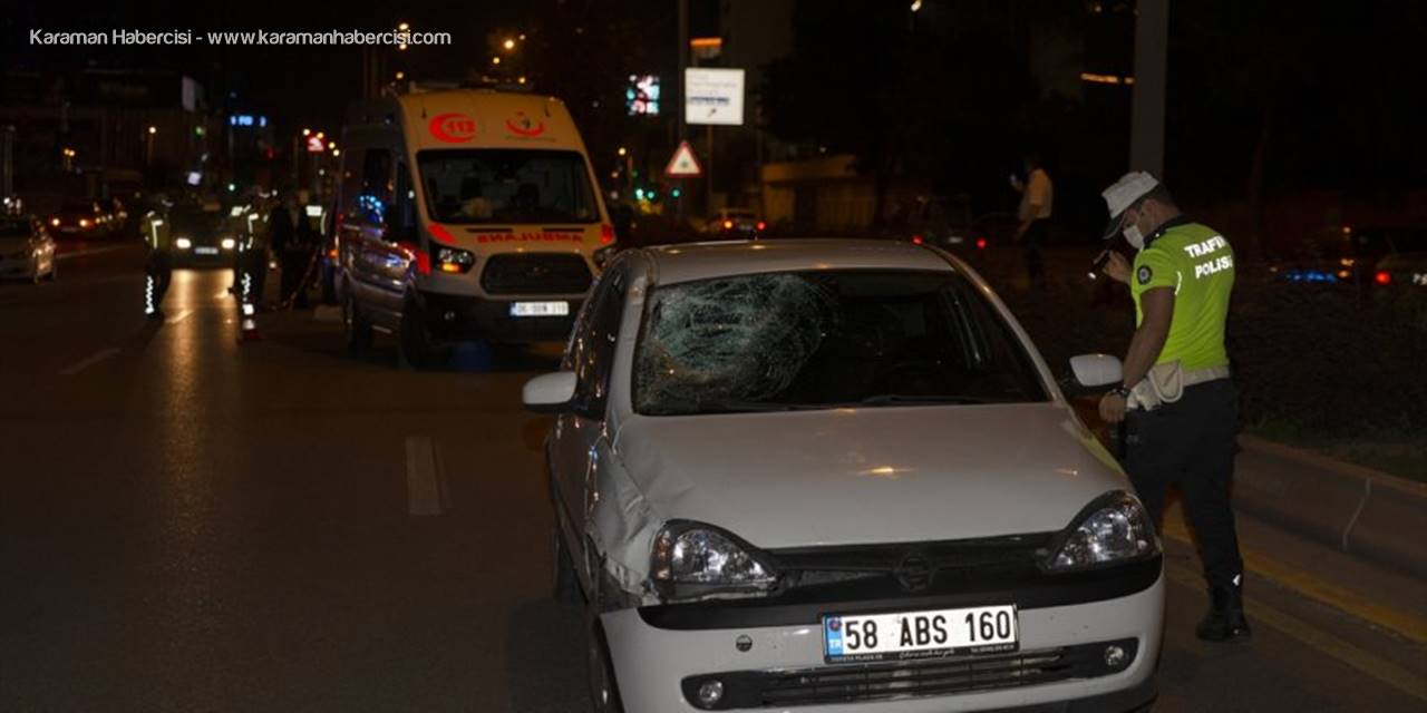 Başkentte Otomobilin Çarptığı Yaya Hayatını Kaybetti